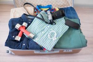 小さいスーツケースの収納方法