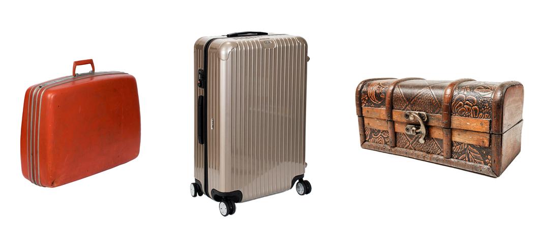 スーツケース選び方 歴史