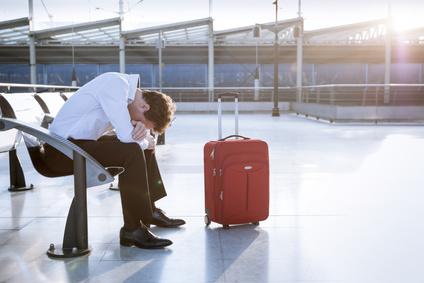 空港で困った人