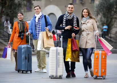 海外旅行とスーツケース