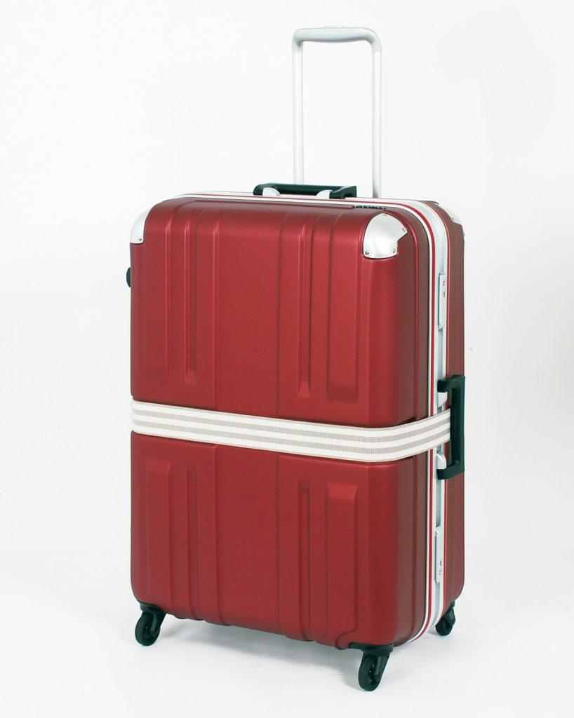 スーツケースベルトの効果