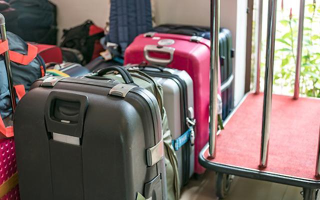 全てのスーツケースにtsaロックは付いていないので注意