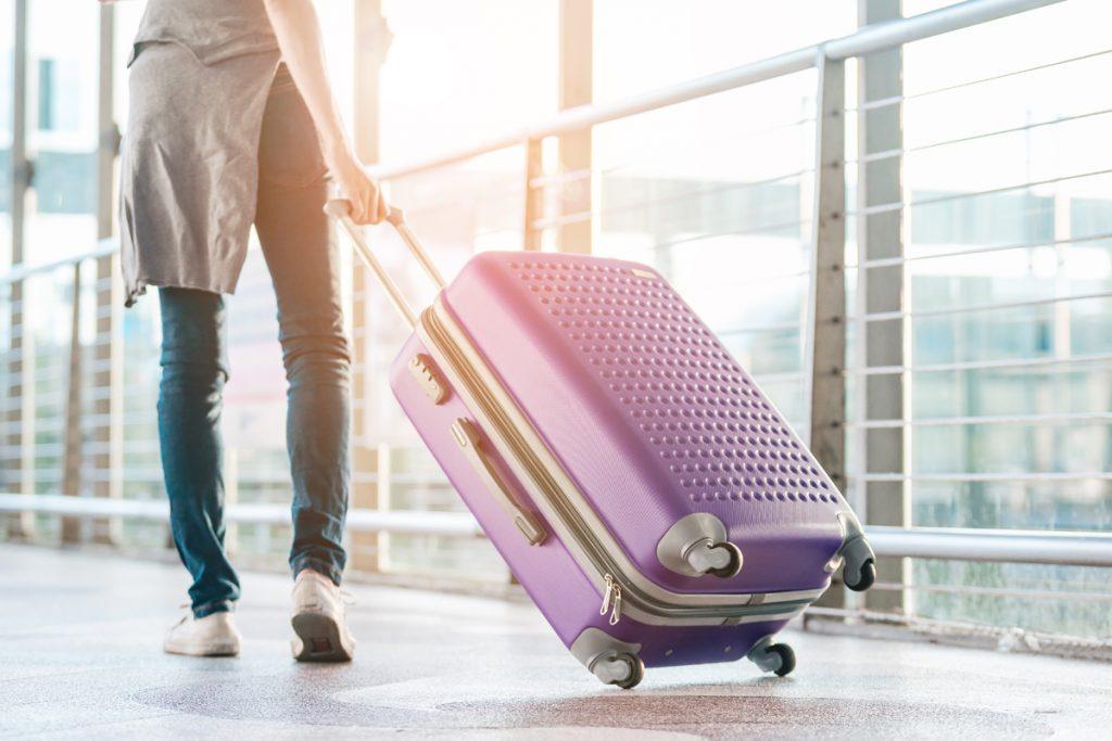 1週間程度80リットルのスーツケース
