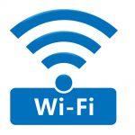 wifiありますのロゴを表示