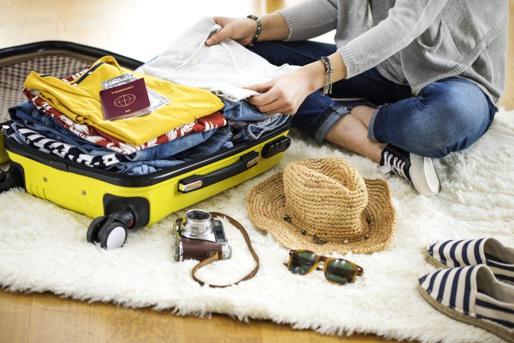 海外旅行のパッキング