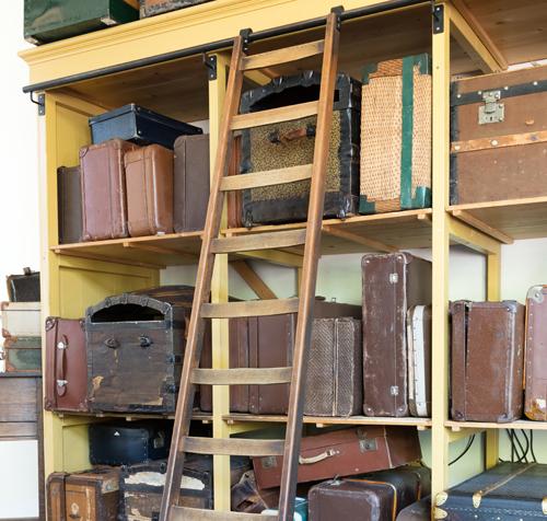 スーツケースの保管場所に困る
